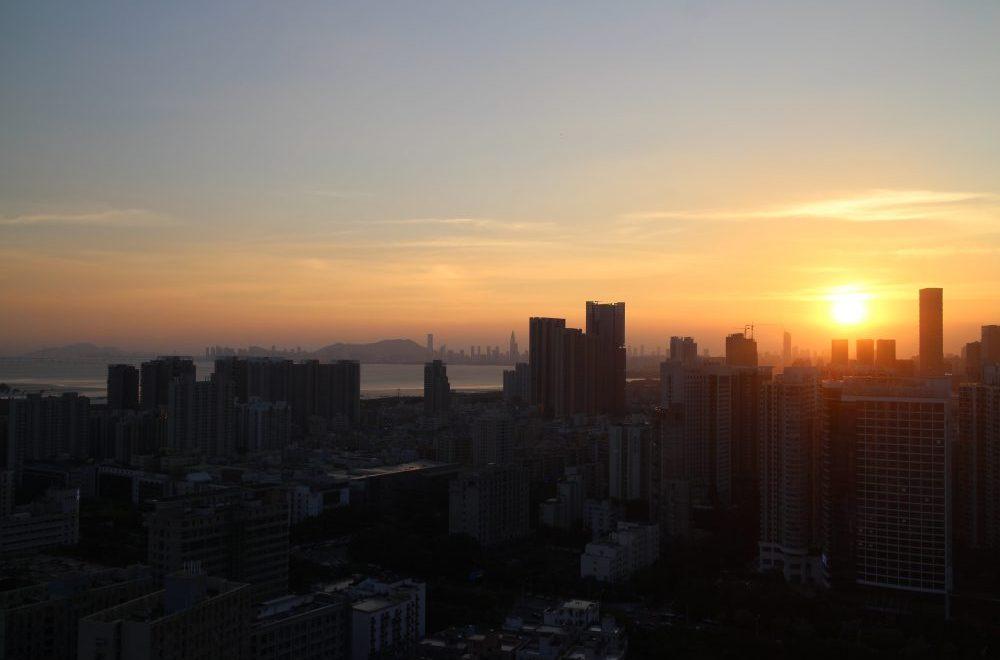 Baie de Hong-Kong, vue de notre balcon