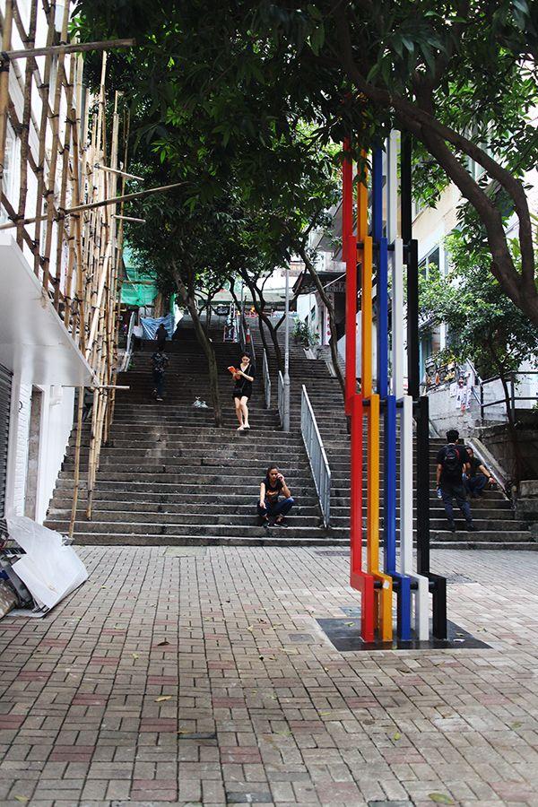 midlevels-rues-escalier-hongkong